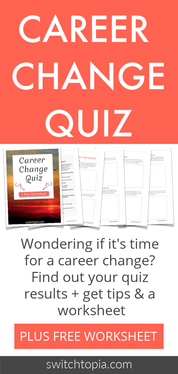 Find the perfect career for you quiz